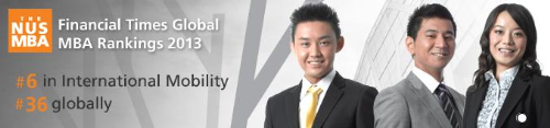 Học bổng MBA tại NUS Business School