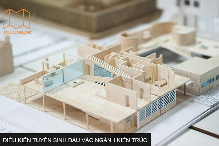 Điều kiện tuyển sinh đầu vào đối với ngành học kiến trúc tại Nhật như thế nào?