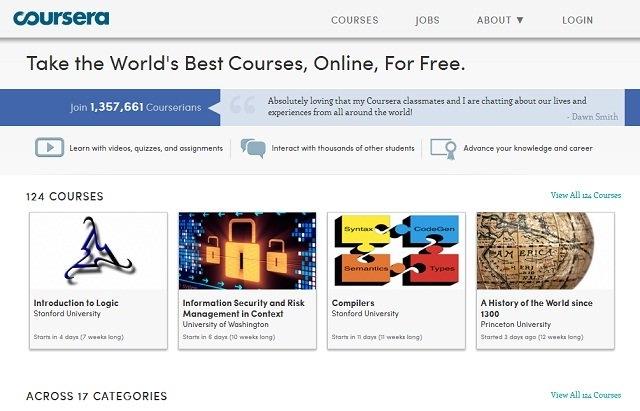 """""""Sốt Xình Xịch"""" Với 37 Website Học Online Miễn Phí Hay Nhất Thế Giới"""