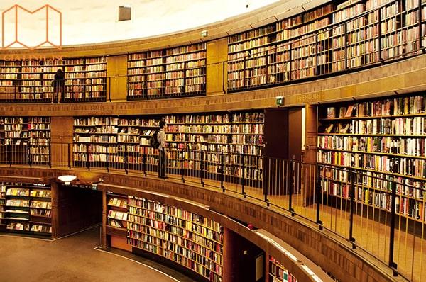 Học và mượn sách tại thư viện