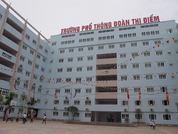 Không gian trường THPT Đoàn Thị Điểm