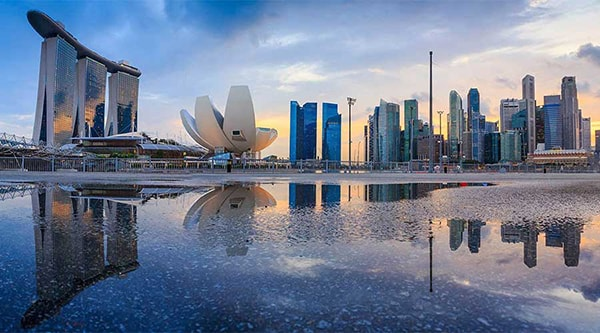 Vịnh Marina, một trong những điểm đến đẹp nhất tại Singapore