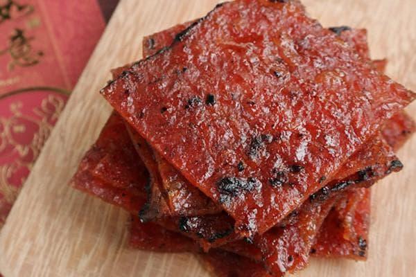 Thịt heo khô Bak Kwa