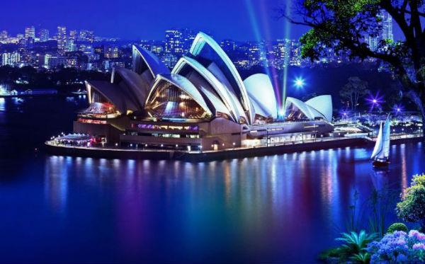 Thành phố Sydney là nơi đầu tiên bạn nên đến du lịch