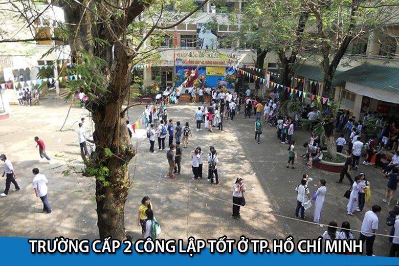 Top 5 Trường Cấp 2 Công Lập Tốt ở TP. Hồ Chí Minh