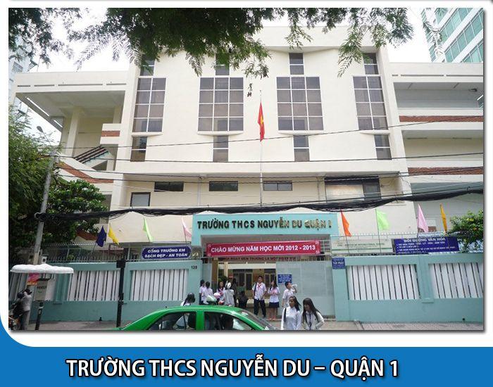 Trường THCS Nguyễn Du - Quận 1 Tp Hồ Chí Minh