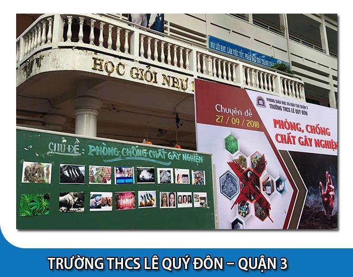 Trường cấp 2 Lê Quý Đôn - Quận 3 - Tp Hồ Chí Minh