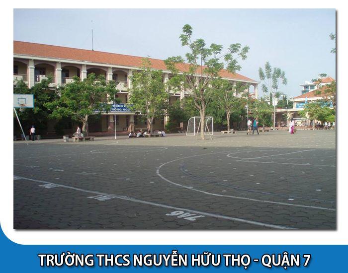 Trường cấp 2 công lập Nguyễn Hữu Thọ - Quận 7