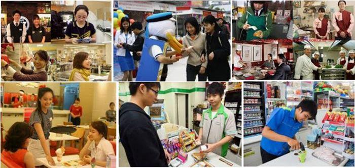 Sinh viên làm thêm khi du học tại Hàn Quốc