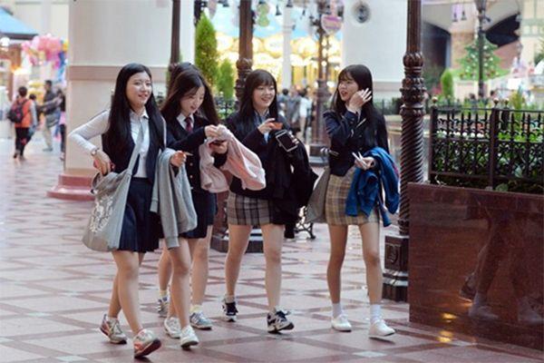 Giới trẻ của Hàn Quốc rất Tây Âu