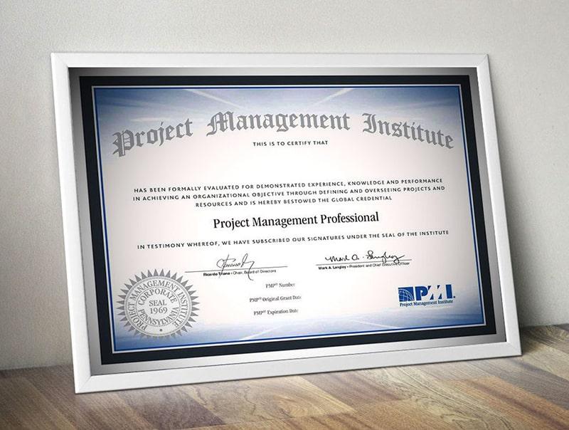 Thi lấy chứng chỉ PMP quản lý dự án chuyên nghiệp